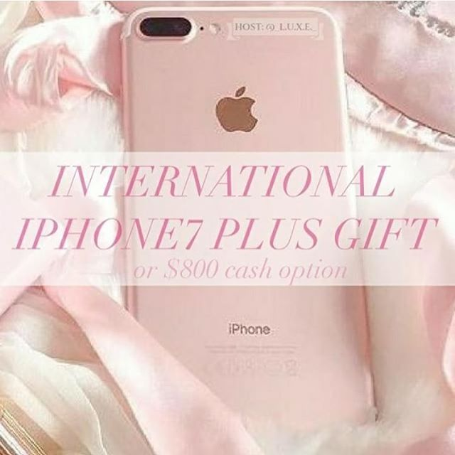 """Head over to @thefrugalfashionistaofoc next to enter! More instructions below! 1 lucky winner will win an iPhone 7 Plus, or $800 cash option! MAKE SURE TO FOLLOW ALL ACCOUNTS, we will be checking.  To Enter: 1⃣Follow me and all other hosts of the giveaway 2⃣ """"Like"""" this photo and everyone else's involved 3⃣ Follow @thefrugalfashionistaofoc 4⃣ Repeat steps 1-3 in every photo until you've arrived back here.  This completes your entry. Be sure to double check that you didn't miss any of us! 😊  BONUS ENTRY: Like 3 images on our page then comment below DONE on THIS IMAGE ONLY for an extra entry. You can do this on each account. (Bonus entries are optional)  Your profile needs to be public to win. Open worldwide. No giveaway or fake accounts allowed. Do not repost this image.  Do not DM giveaway hosts or you will be disqualified. Winners from previous giveaways are not eligible to win. Family, friends, and personal accounts from all hosts are not eligible to win. This giveaway will run for 48 hours and entries will be accepted until 6/14/17 at 8pm PST. The winner will be chosen randomly and will be announced on 6/15/17. Please allow us this time to verify all entries and choose a fair winner.  Hosts: @_l.u.x.e._ & @luxe_loops_  Per Instagram rules, we must mention that this is in no way sponsored, administered, or associated with Instagram Inc. This giveaway is not sponsored by Apple or PayPal. By entering, entrants confirm that they are 18 years of age, release Instagram of responsibility, and agree to Instagram's terms of use. No purchase required and void where prohibited by law.  Any logos shown in the photo belong to the respective brands and no copyright infringement is intended. If you are unable to follow all hosts due to the Instagram hourly limit, please try again in an hour. Frequent unfollowers/negative comments will be disqualified from future giveaways. Good luck everyone!"""
