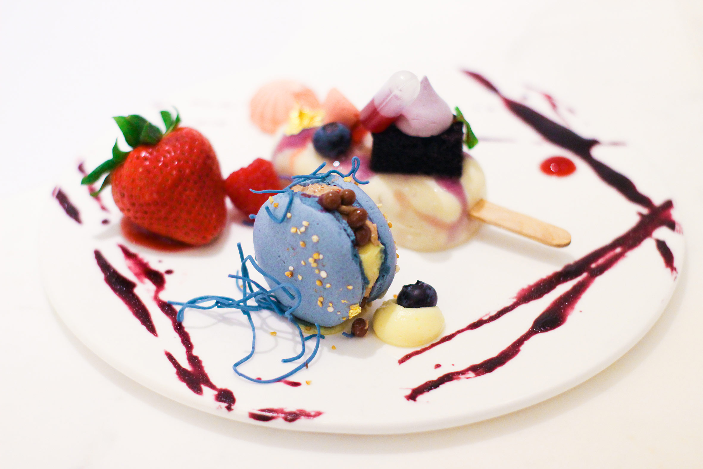 Shangri-La at the Fort's dessert platter