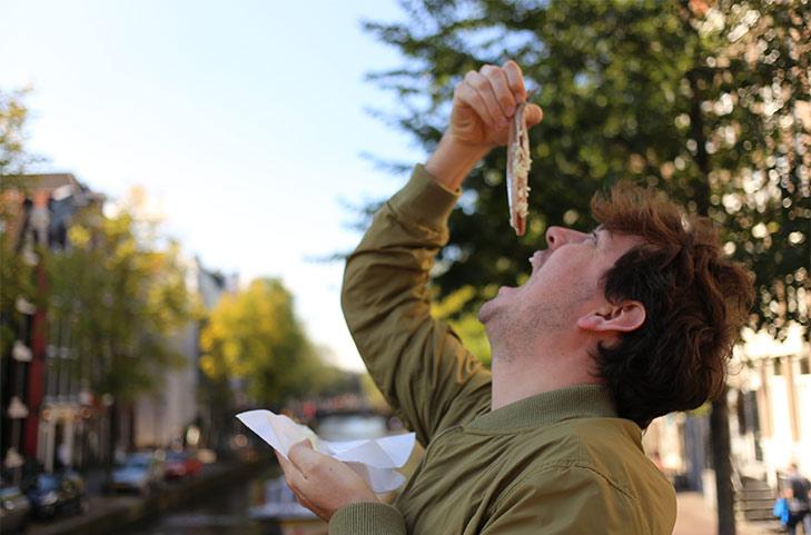 Leon of @hungrysydneysiders took the challenge of eating like a Dutchman.