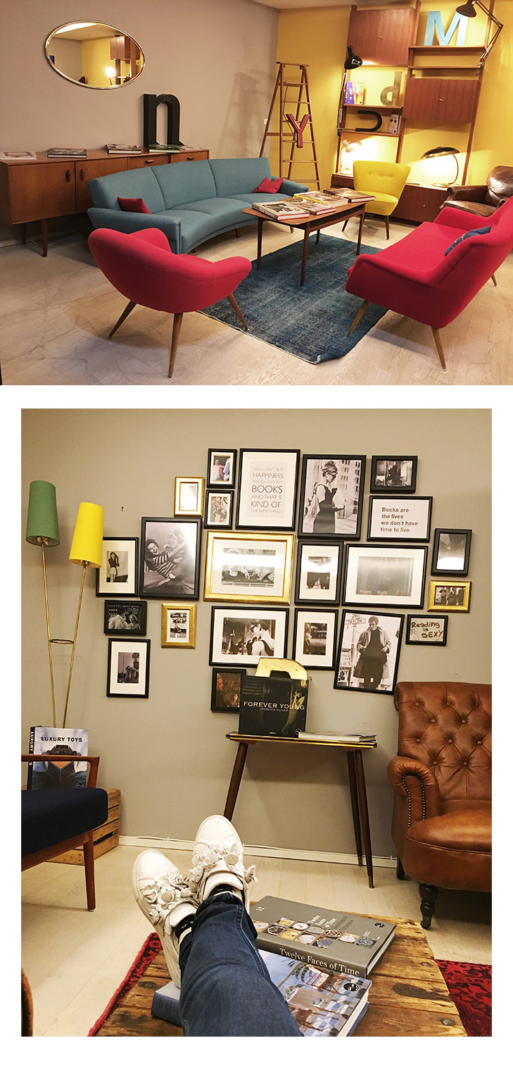 Loving the retro common rooms at Ruby Marie Hotel. Photo by May Leong.