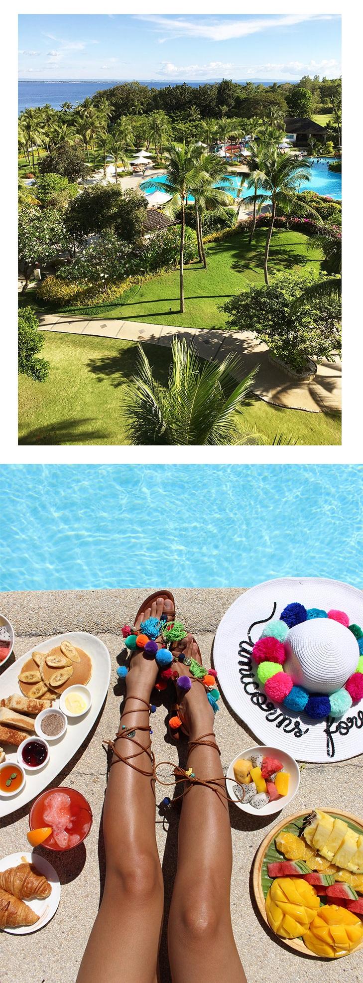 Summer days at Shangri-La Mactan