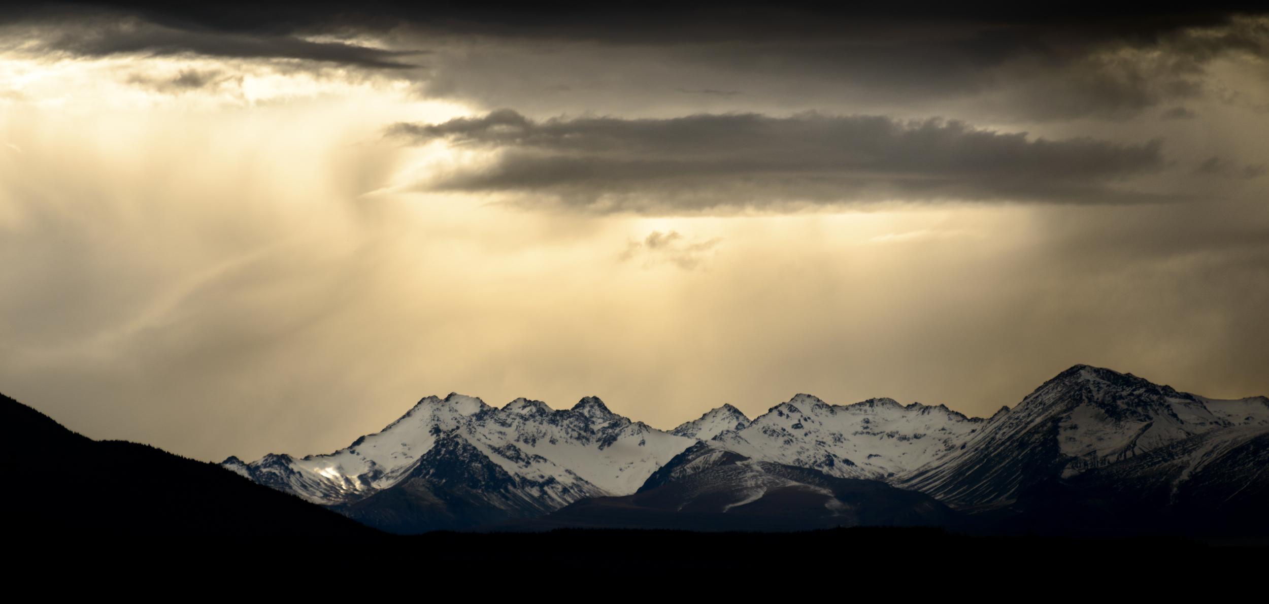 """Black Hills Storm""  Mackenzie Basin, South Island, New Zealand  D800, ISO100, f5.6, 1/1250sec, 250mm"