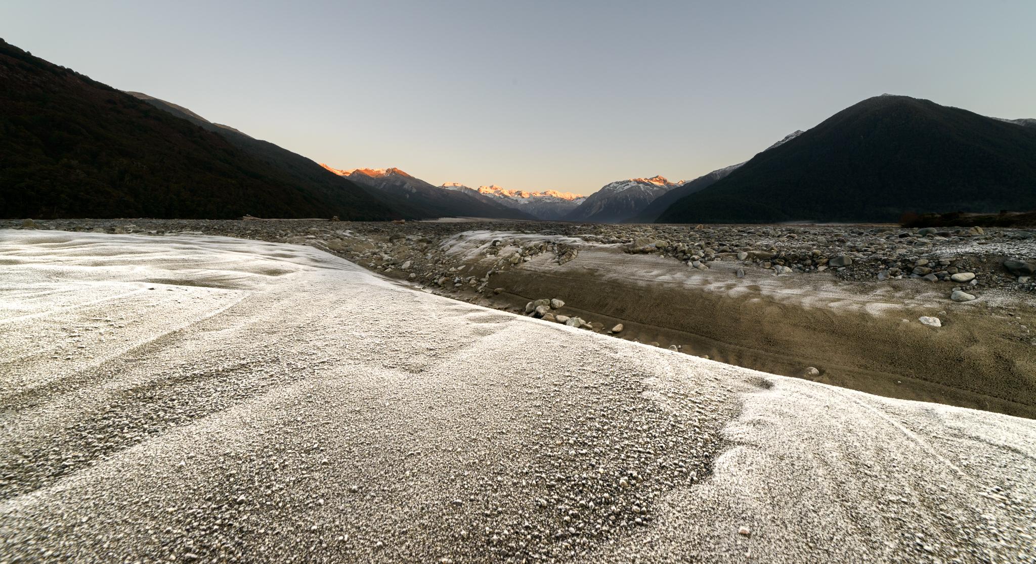 Frozen Sands, Waimakariri River