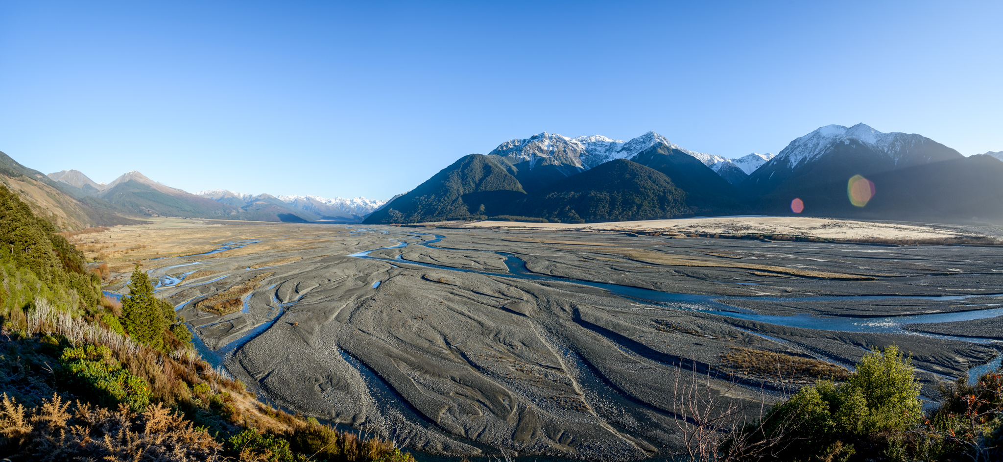 Waimakariri River from Paddy's Bend