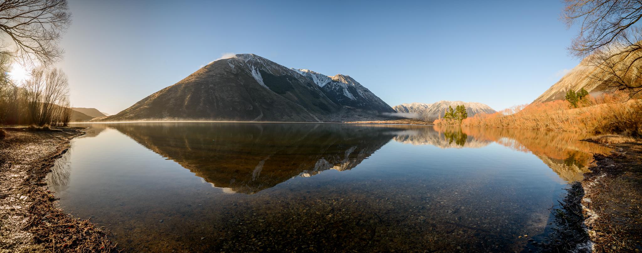 Closing the loop, Lake Pearson