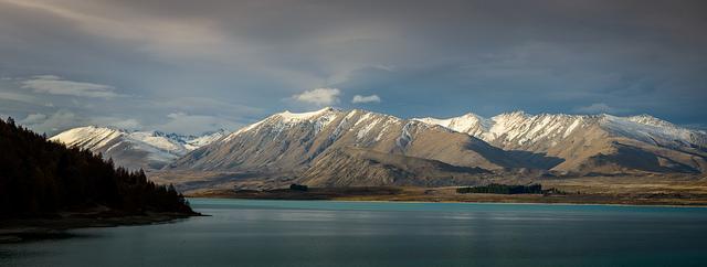 """Camp view"", Lake Tekapo"