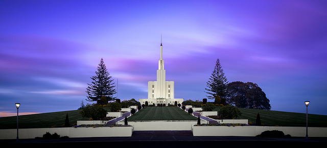 """On Temple View"", LDS Temple, Hamilton"