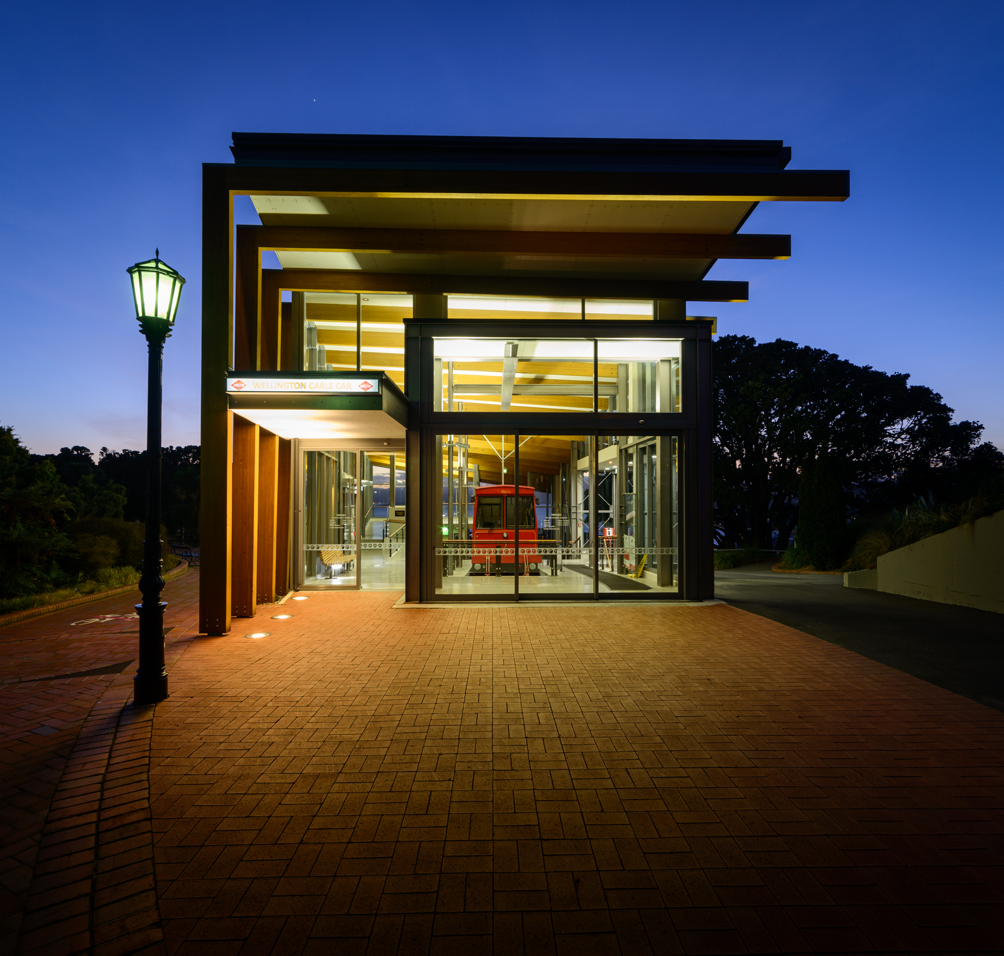 New Cable Car Terminal, Wellington