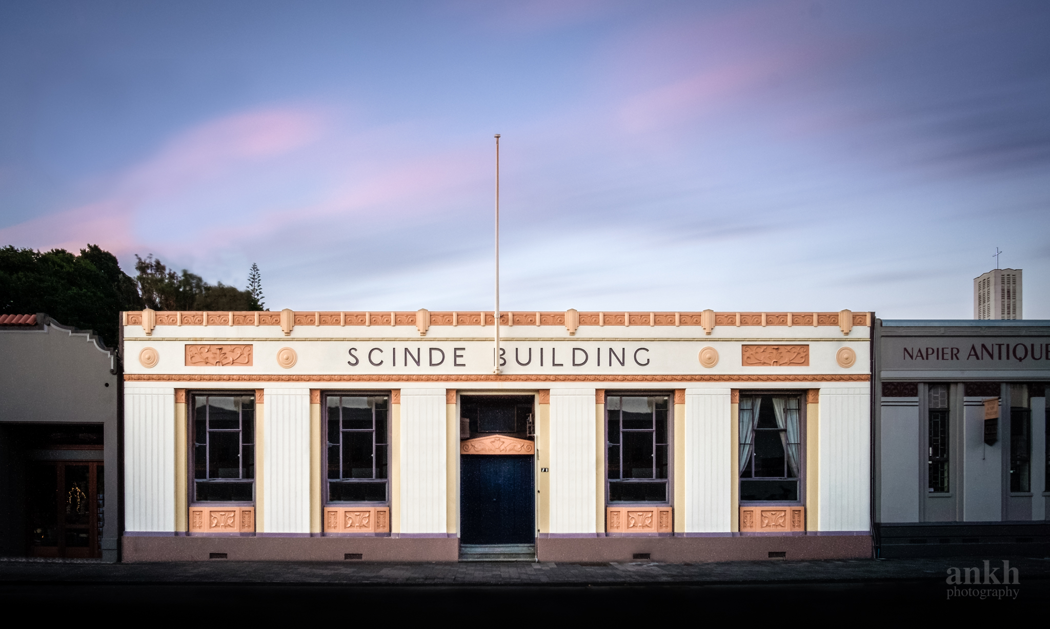 """Different Times, Different Light: Scinde Building"""