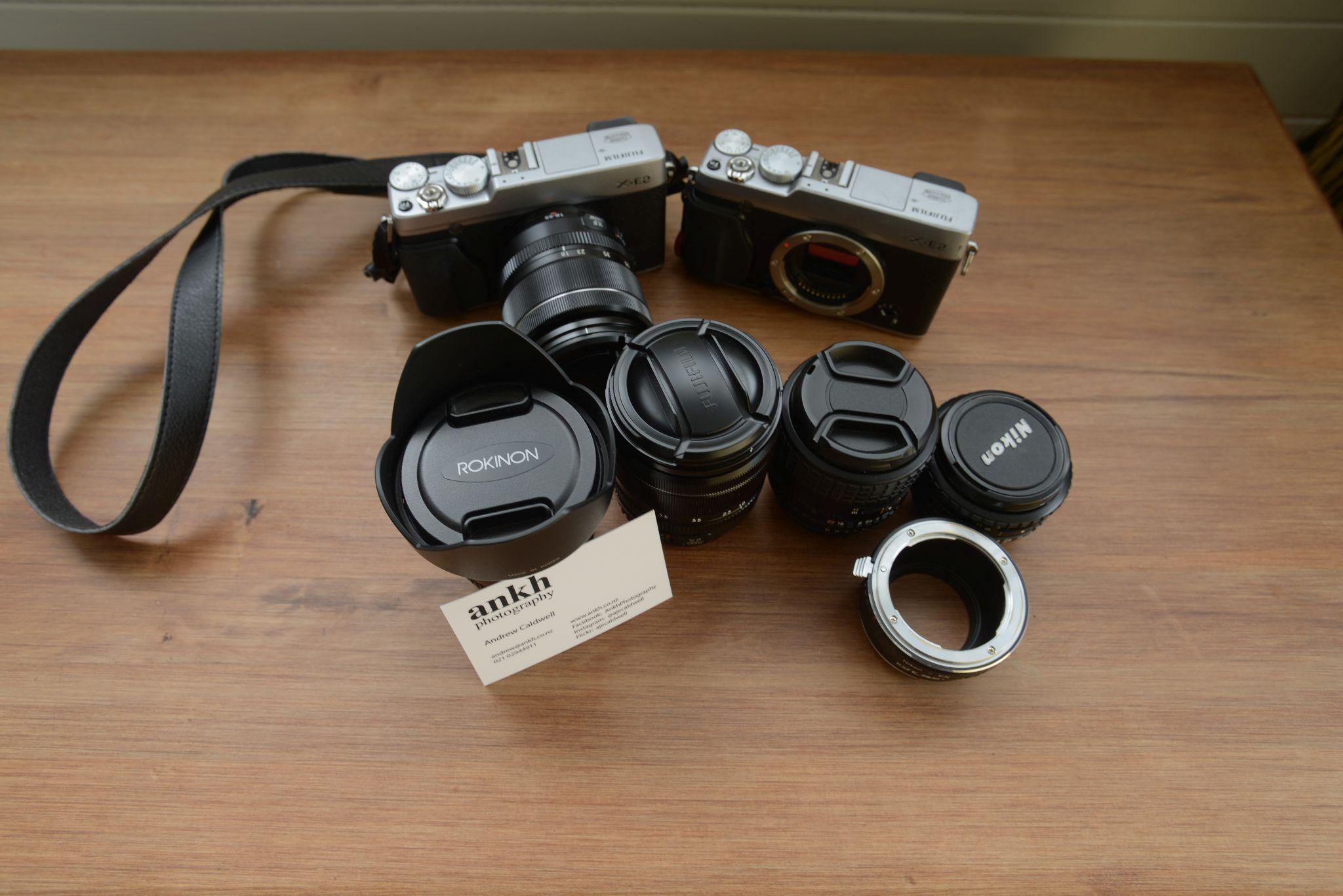 """Fujifilm """"Travel kit"""""""
