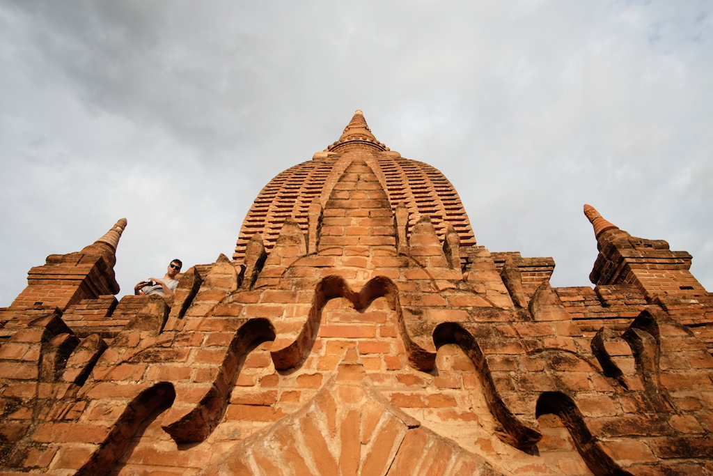 Brick and Plaster detail, Unnamed Pagoda