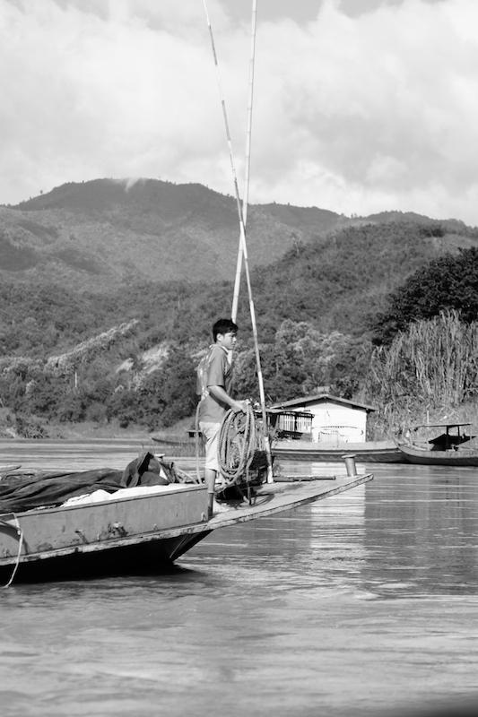 Supply boat docking
