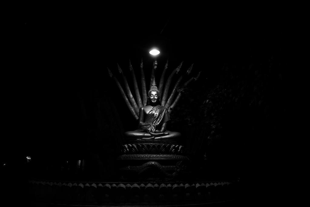 Lit Buddha