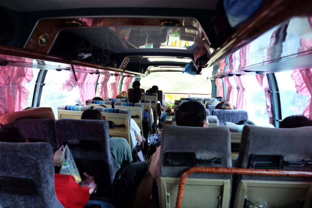VIP bus to Vang Vieng