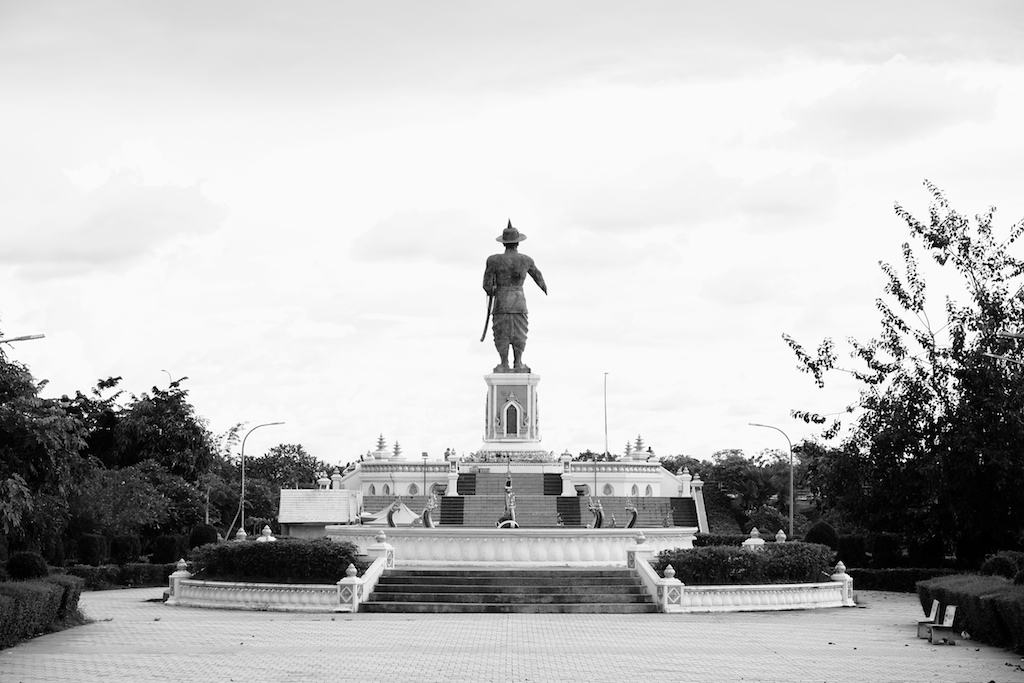 Chao Anouvong, the last King of Vientiane looks to Thailand across the Mekong