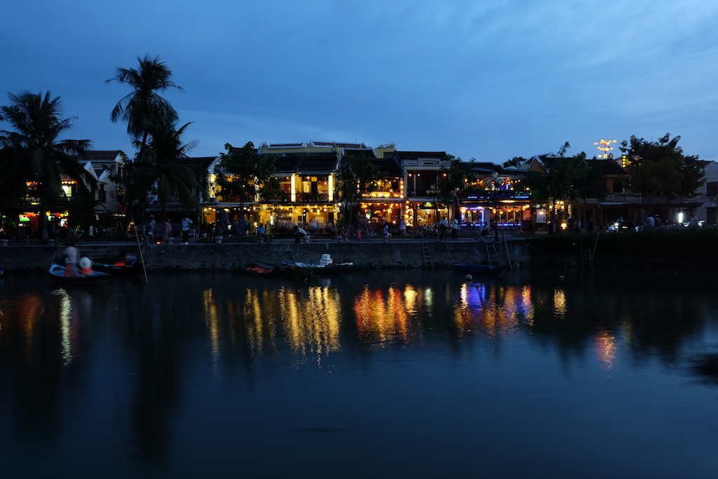 An Hoi and the Thu Bon River from Hoi An