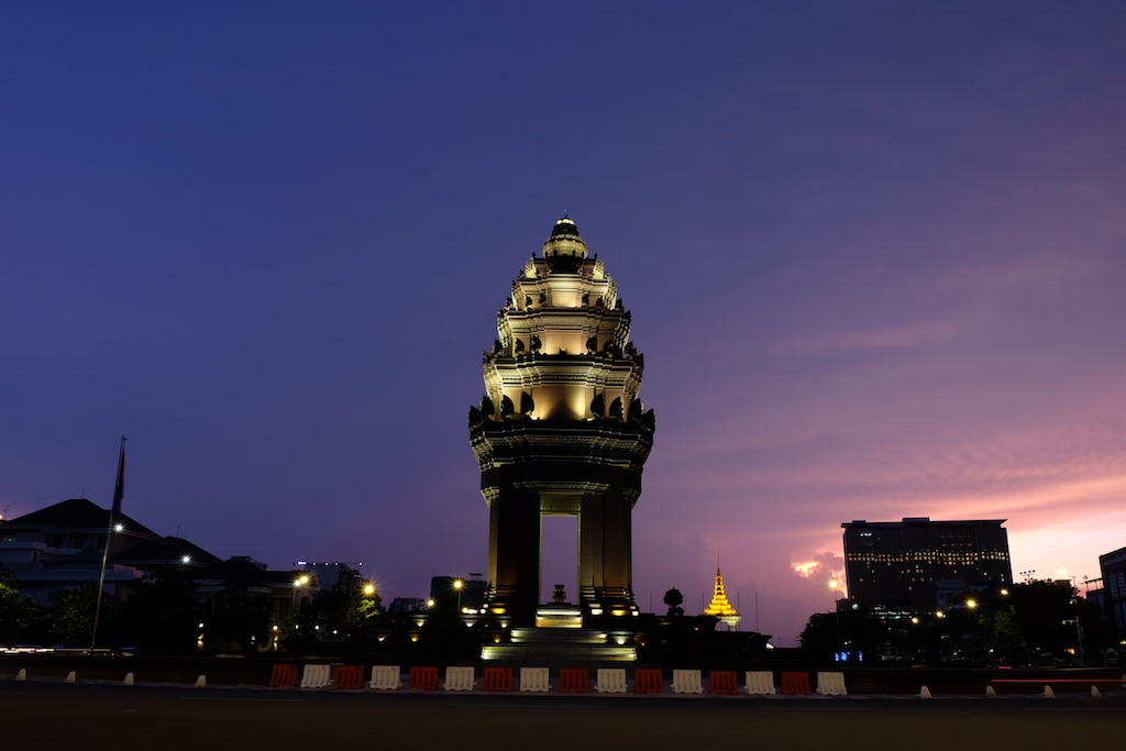 Independence Monument, before the lights went out