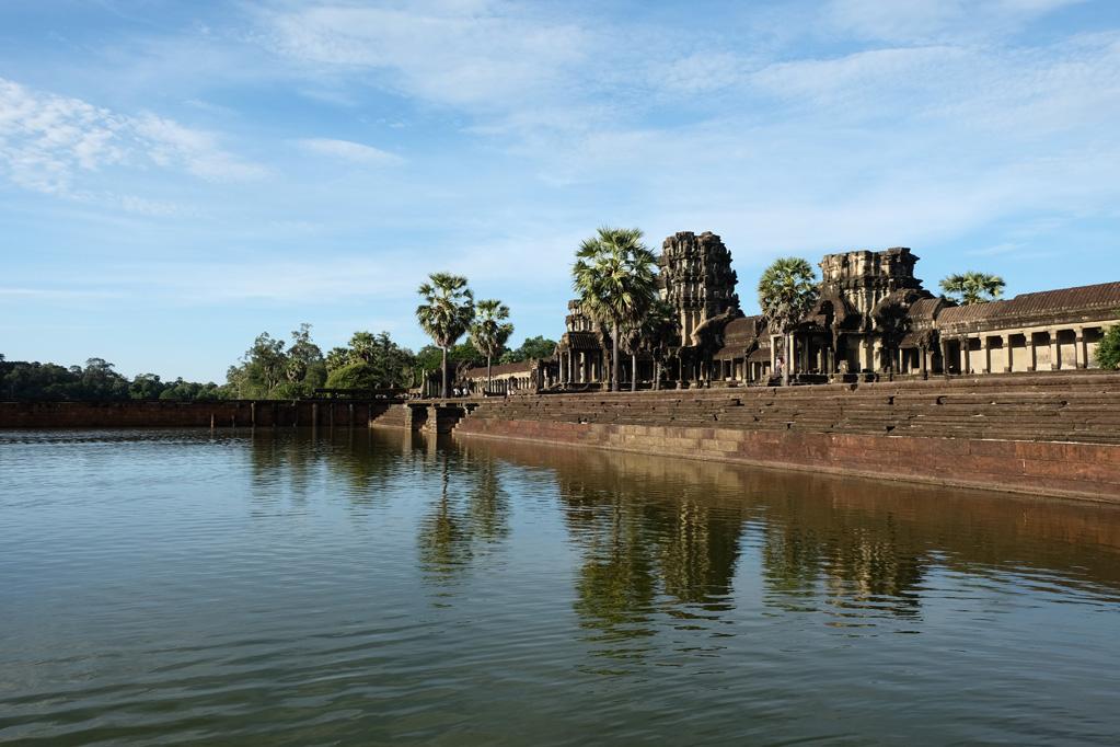 Day 3: Angkor Wat moat