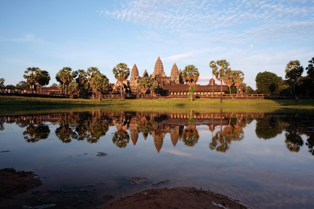 Day 3: Angkor Wat Sunset, South Reflecting Pool
