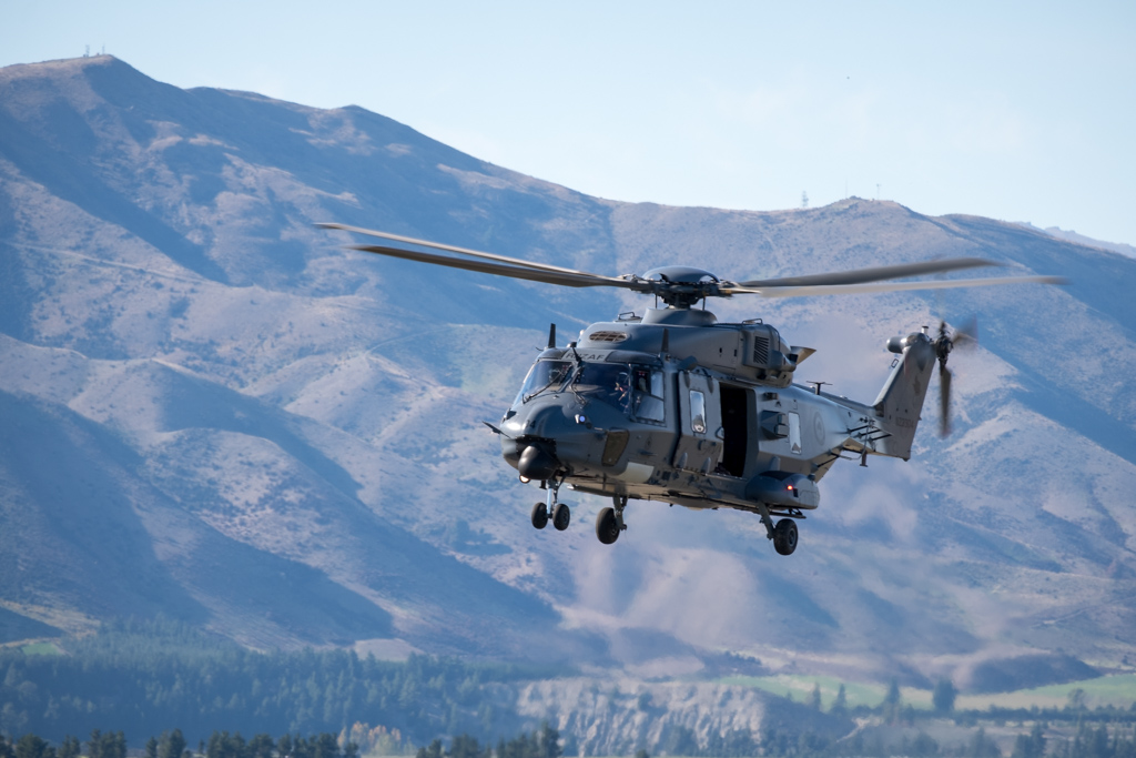 Opening flypast of the NH90