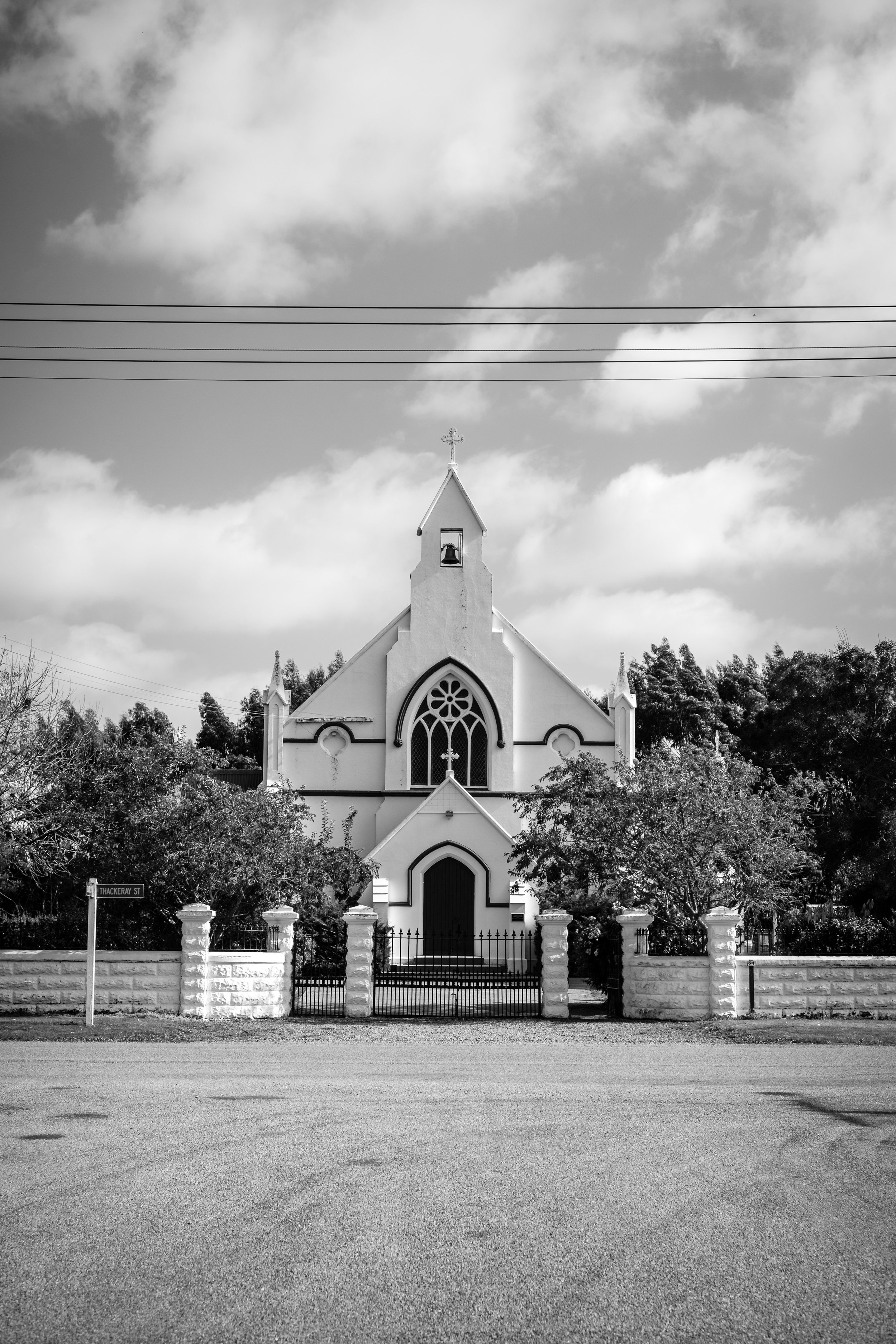 The church with no name, St Andrew's