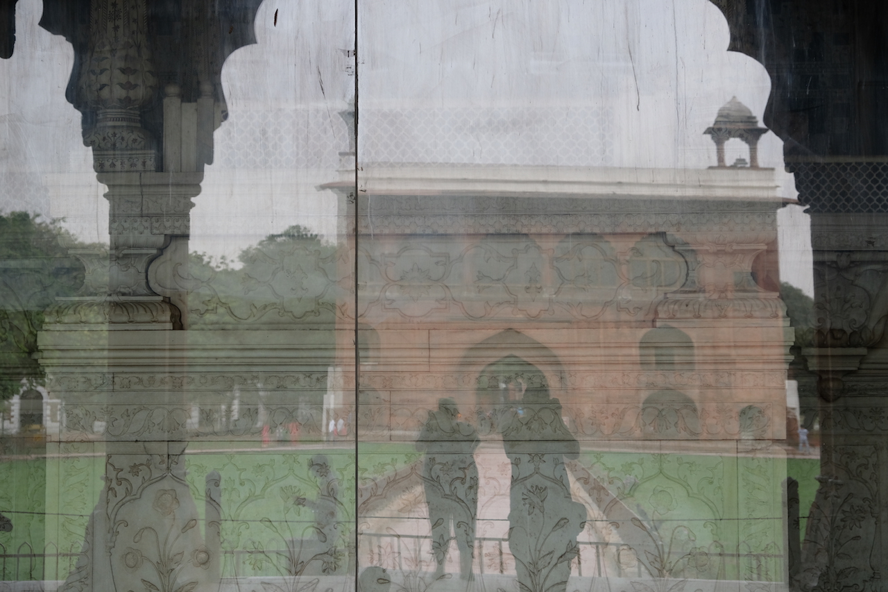 A couple of photographers, Red Fort