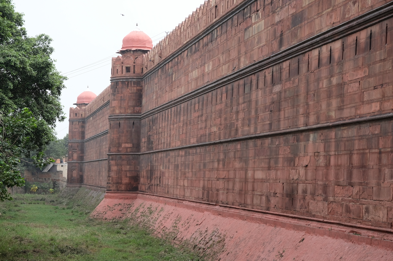 Red Fort Walls