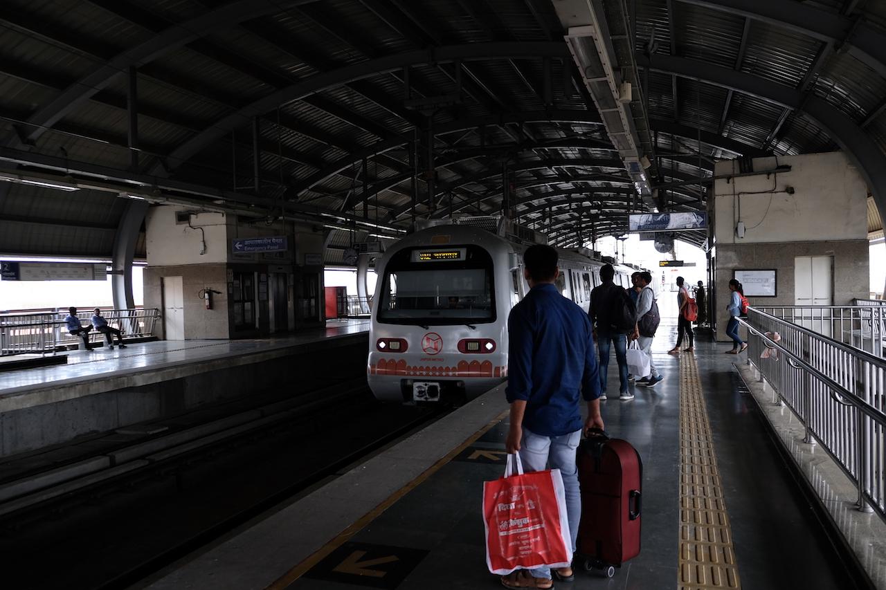 Mansarover Metro Station, Jaipur