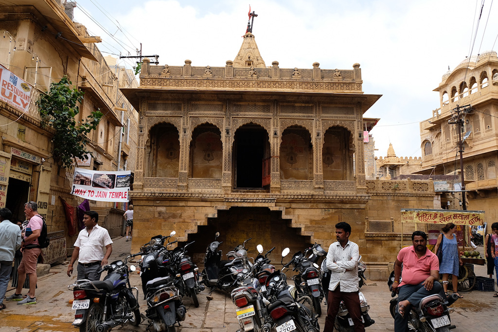 Temple in the main square of the Fort, Jaisalmer