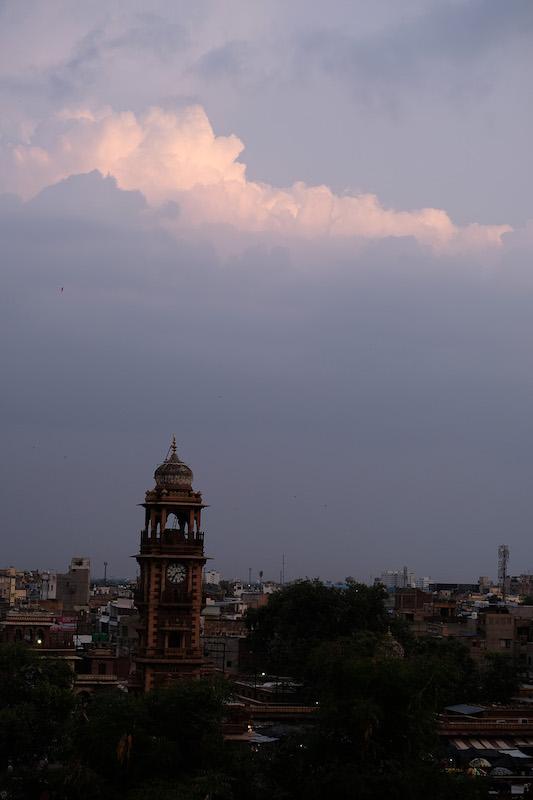 Clocktower at sunset