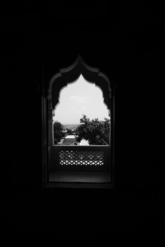 Jaswant Thada window