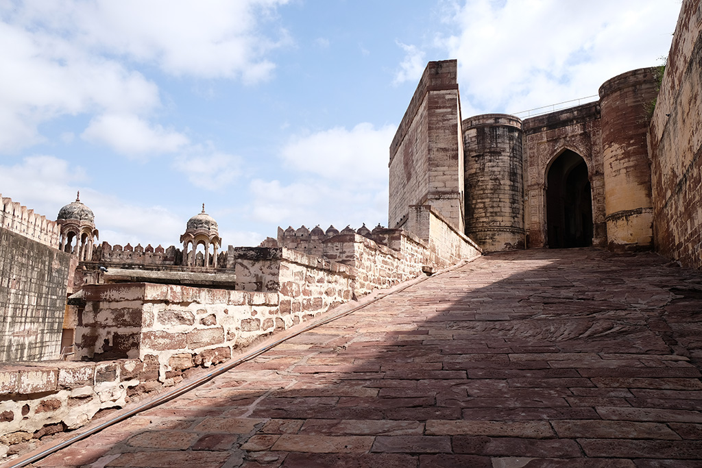 Climbing back up to the Fort, Jodhpur