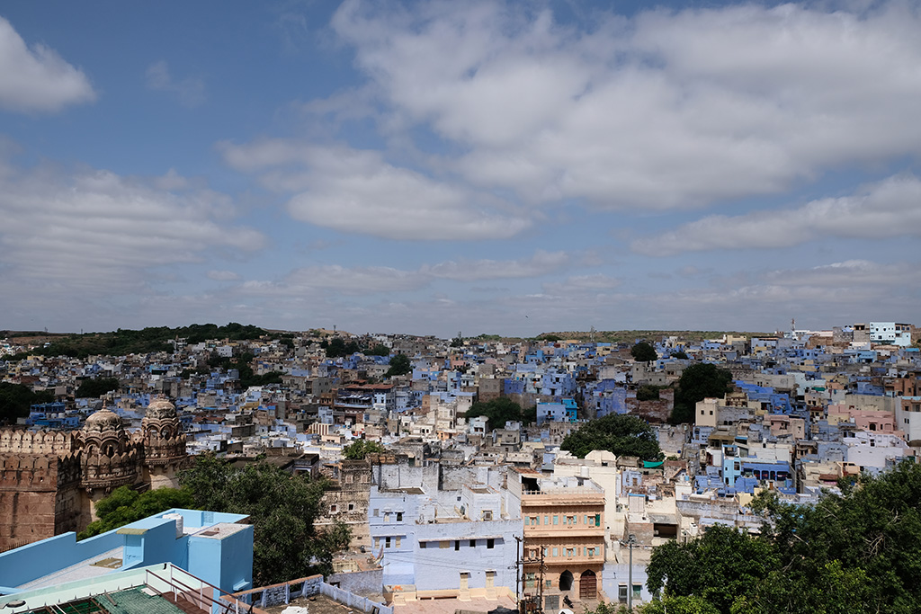 Looking over the Old Blue City, Jodhpur