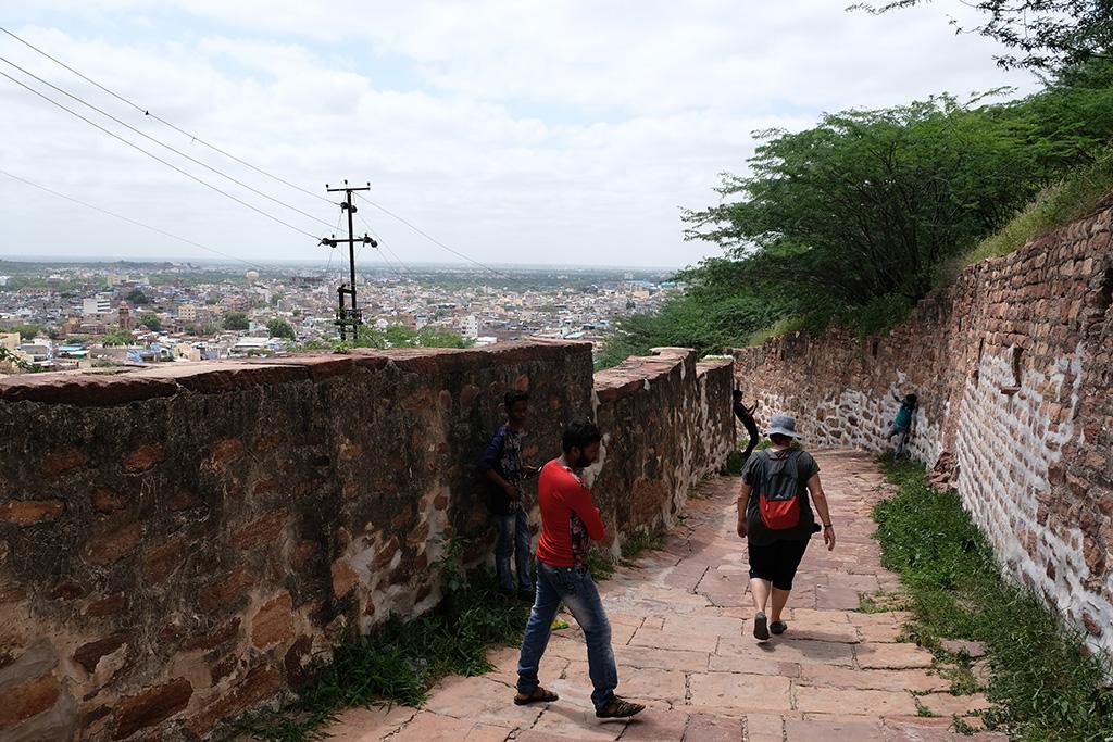 Down is easier than up, Jodhpur