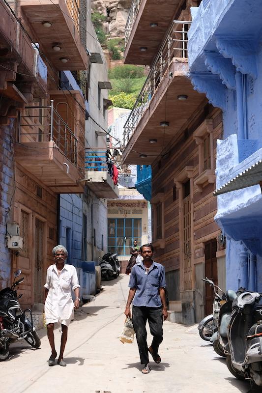 Blue everywhere, Jodhpur
