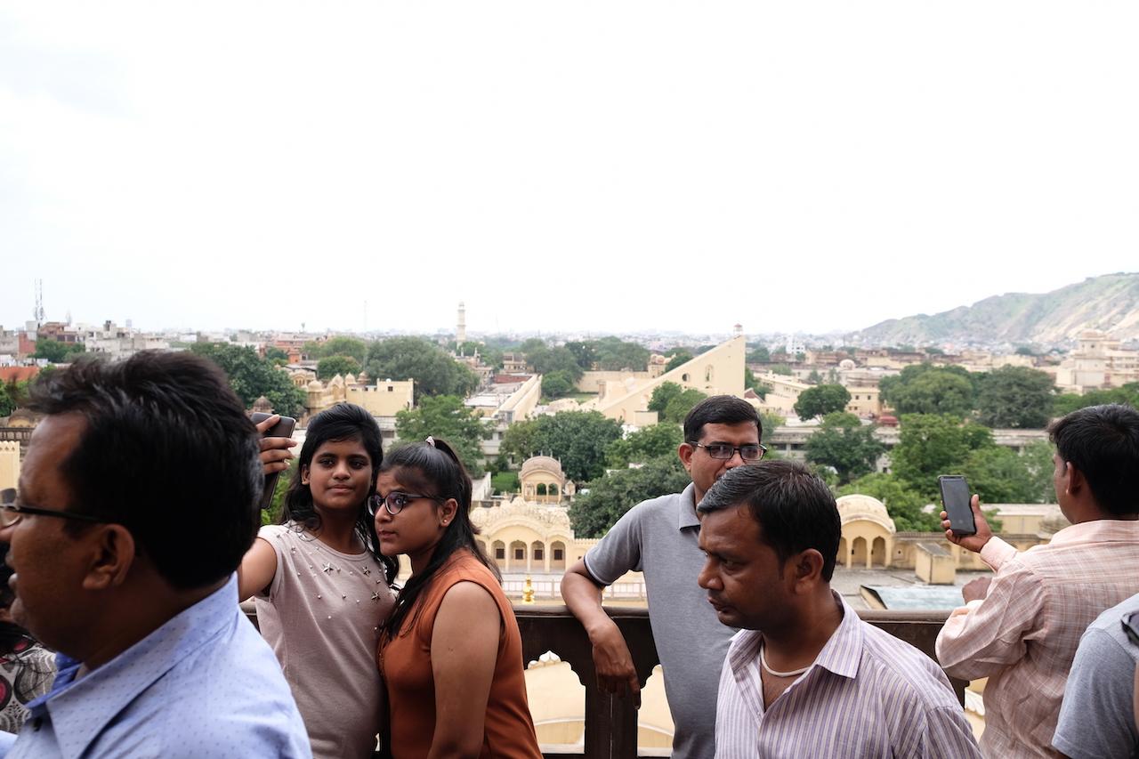 Selfie time, Hawa Mahal