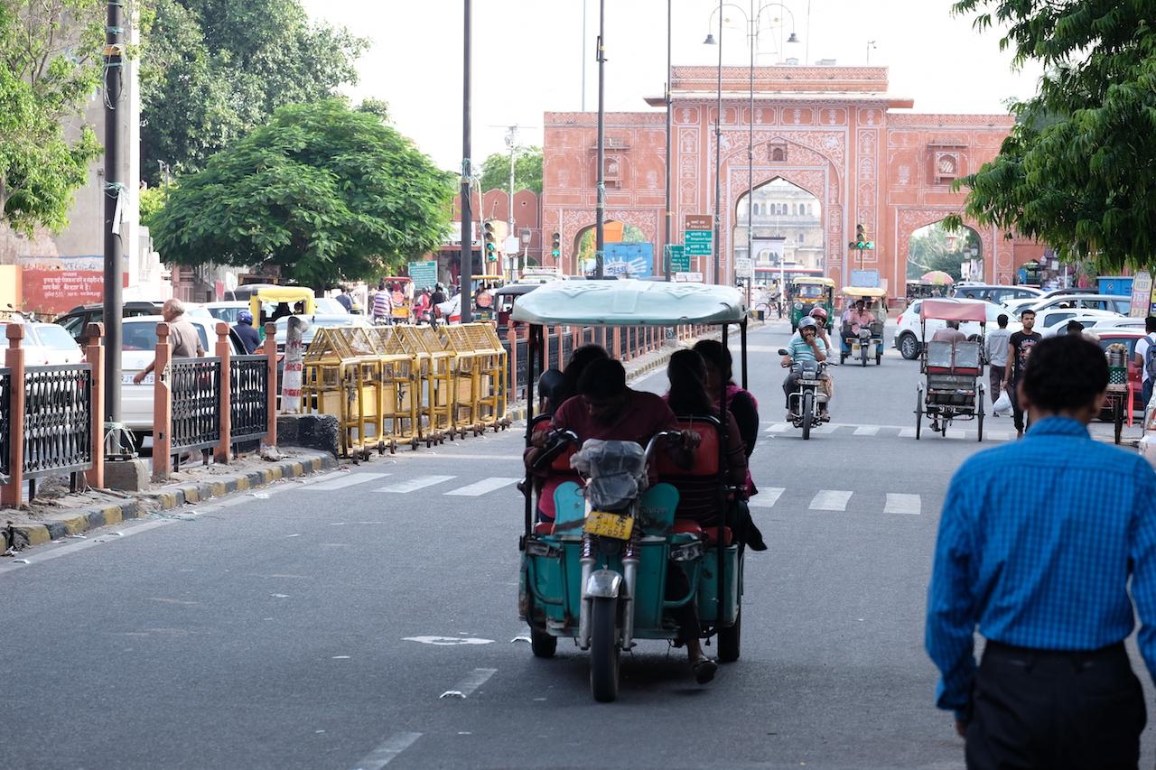 Chaura Rasta Rd looking towards New Gate