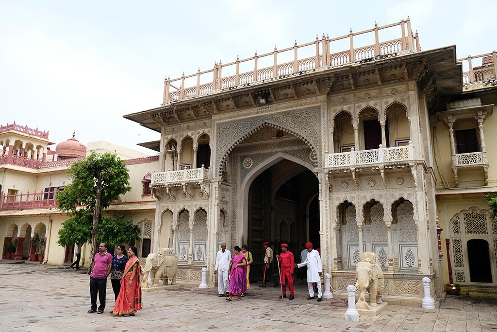 Elephant Gate, City Palace