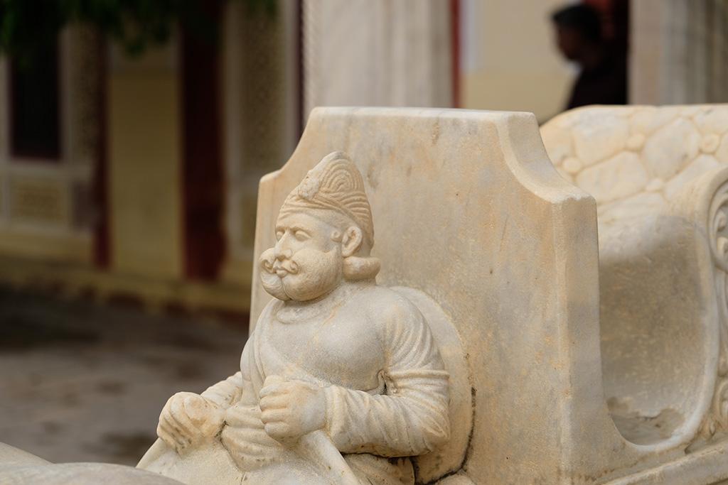 Details, Elephant Gate, City Palace