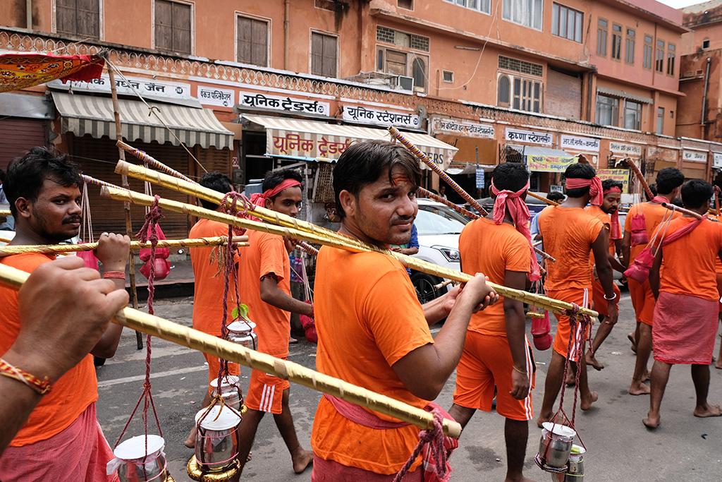 Teej Parade practice