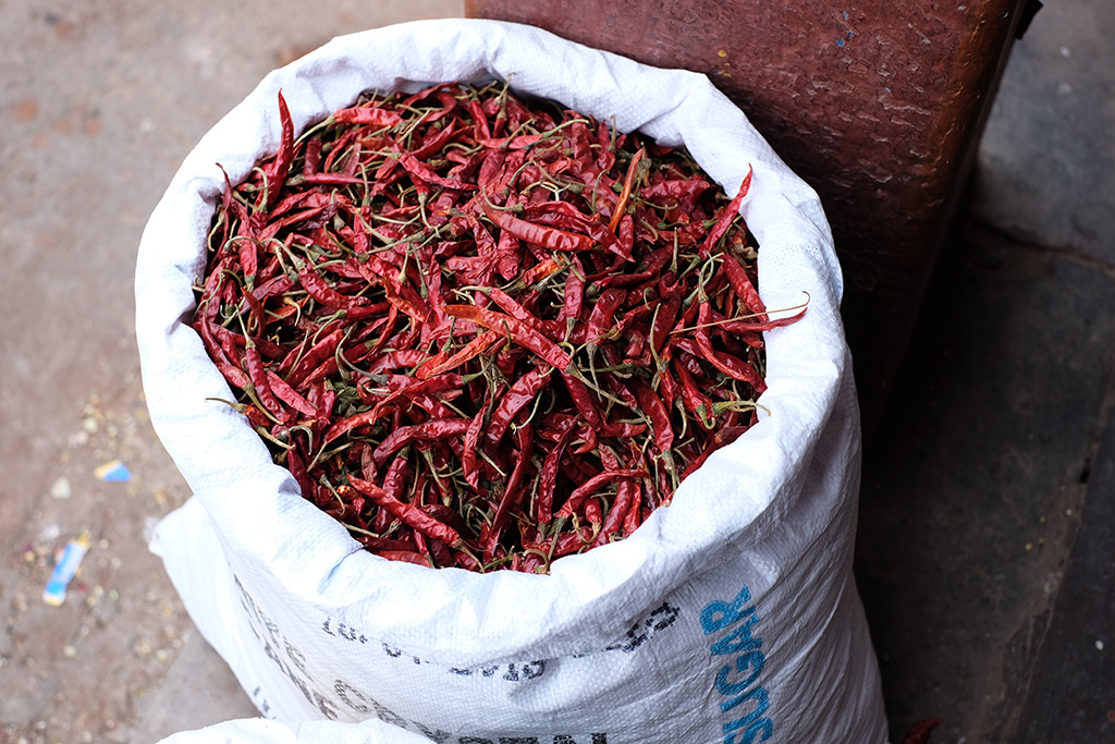 Just a bag of chillis