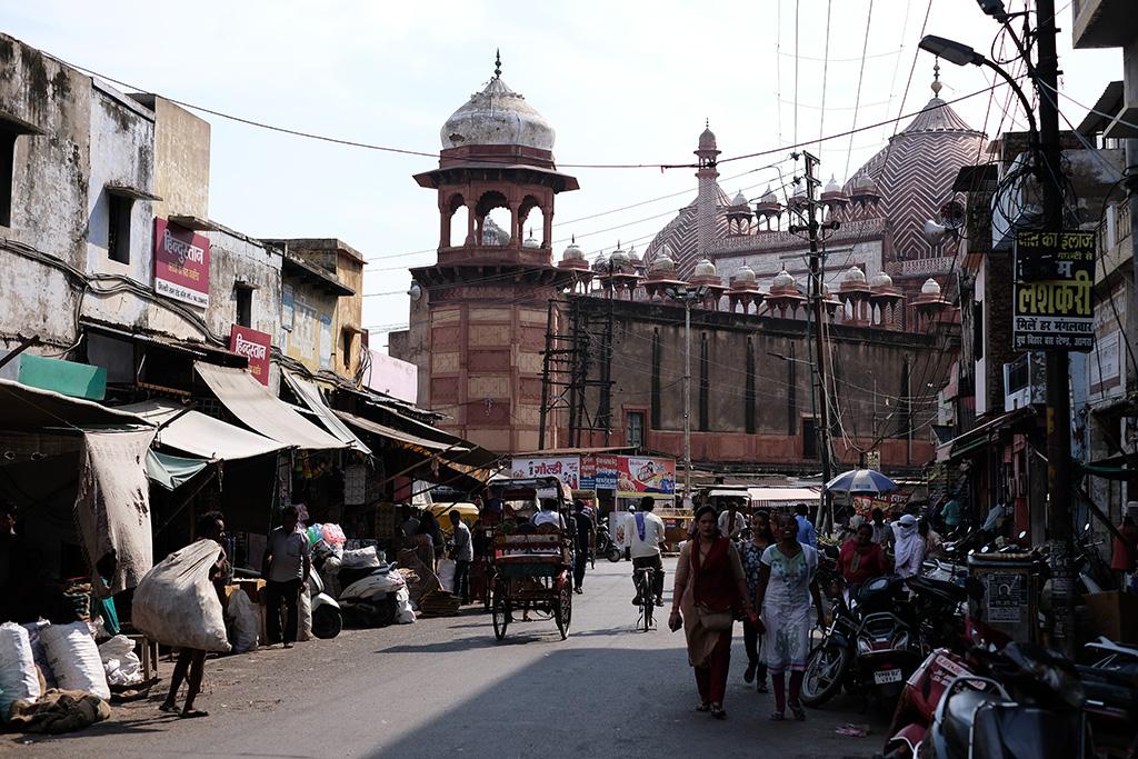 Jama Masjid from Subhash Bazaar