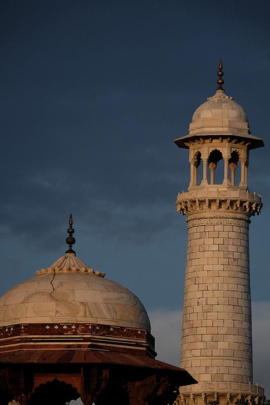 Dome and Minaret, Taj Mahal