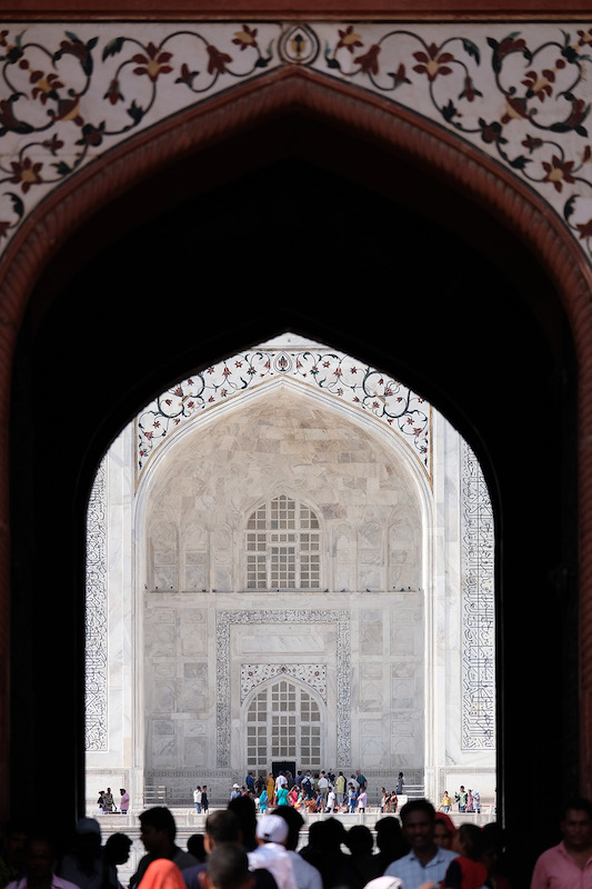 Looking through the Great Gate