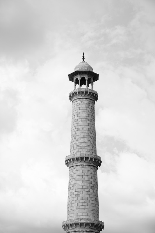 One of the 4 minarets