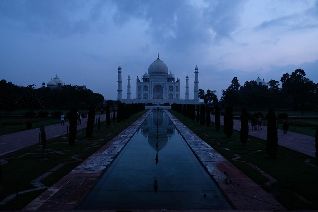 Blue Taj Mahal