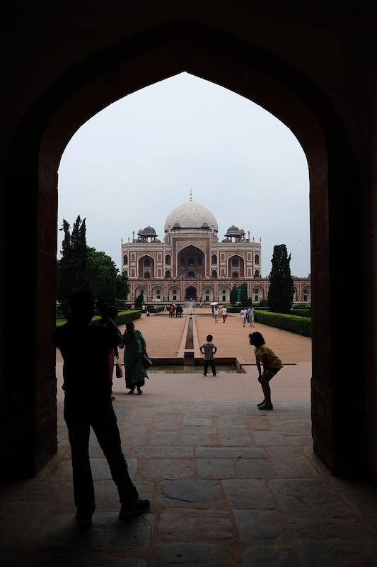 Humayun's Tomb from Bu Halima Gate