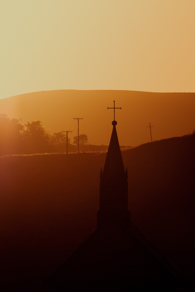 """""""Crossing the landscape"""", crosses of the religious and telecommunication variety"""