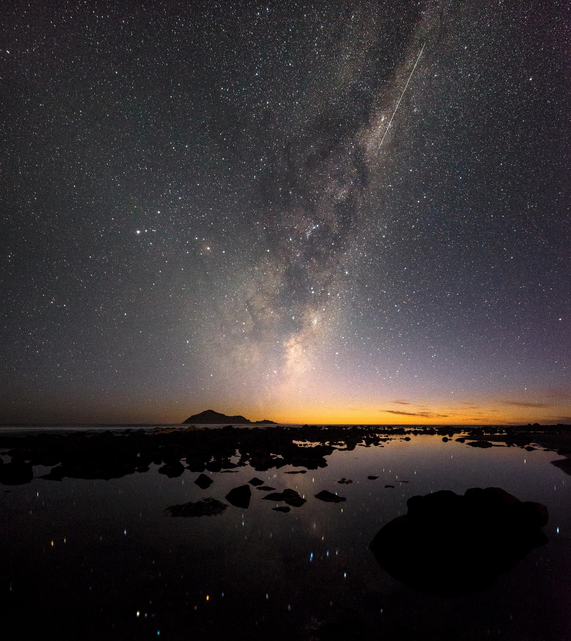 """Falling to Earth"", Waimarama Beach"