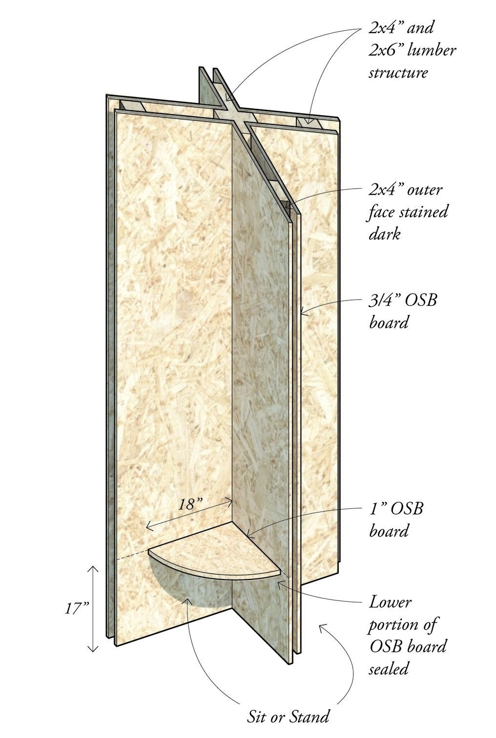 Typical prefab X-column
